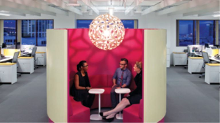 office pod for small group conversations
