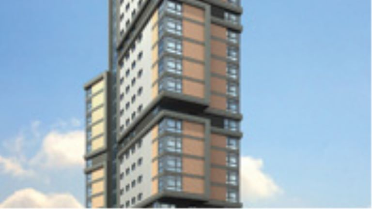 Wolverhampton high rise building in the UK