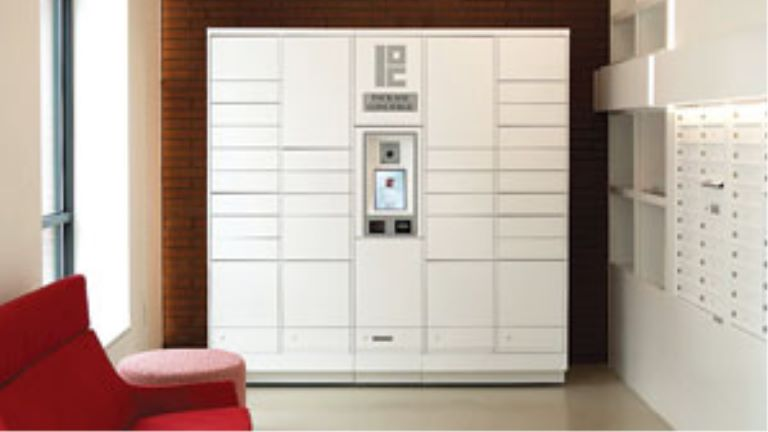 storage locker for packages