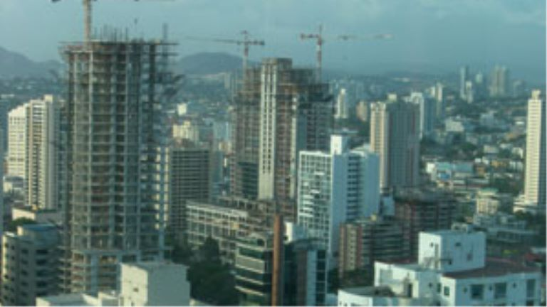 Office buildings in Panama