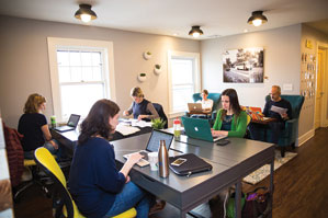 Work And Play In South Orange, New Jersey, Offers 1,525 Square Feet Of  Coworking Space Plus A 1,000 Square Foot Licensed Child Care Facility.