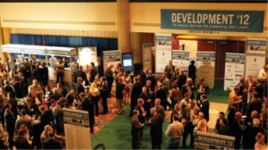 a reception at the Development 12 conference