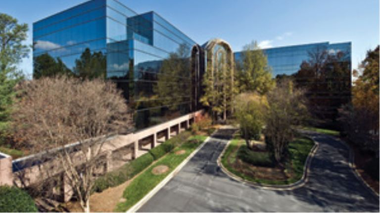 a 160,000-square-foot Class A office building in Atlanta