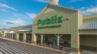 the Publix Store in the Water Tower Shoppes