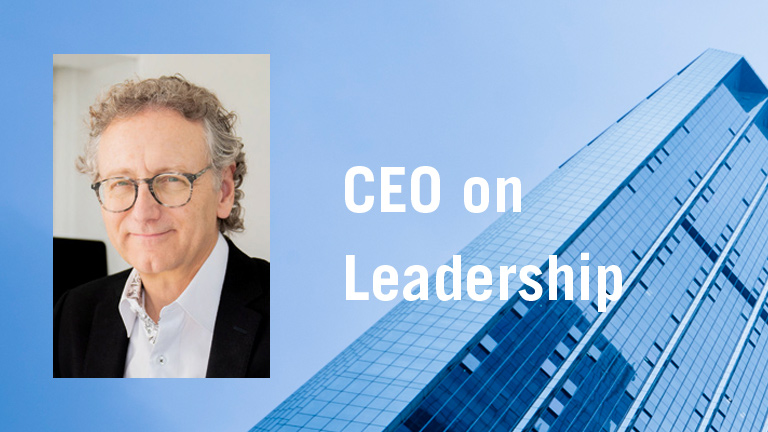 ceo on leadership