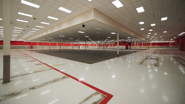 vacant super Target store