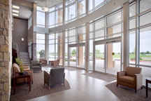 lobby of the OakBend Medical Center