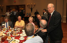 Karl Rove and conference attendees