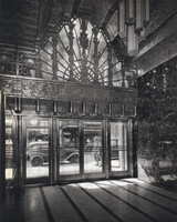 the lobby of 450 Sutter in 1929