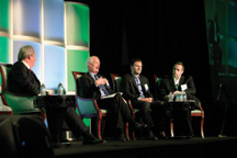 Office Building of the Future panel at the Development 12 conference