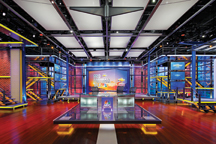 interior view of the NBC space