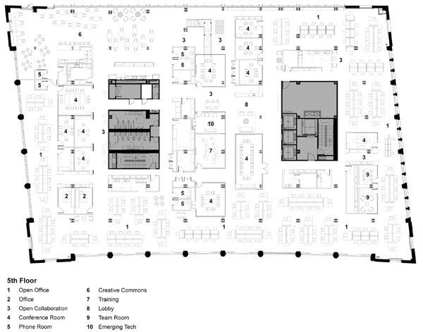 building floorplan