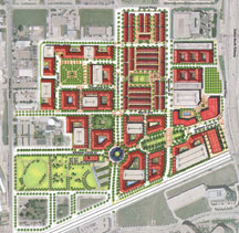 Addison Circle master plan
