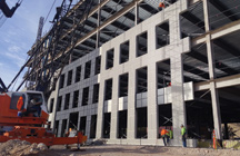 precast concrete panel installation