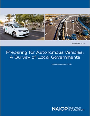 Preparing for Autonomous Vehicles Report Cover