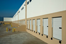 exterior view of the First Chino logistics center
