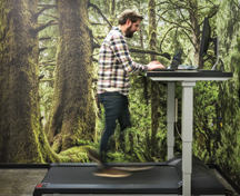 healthy work environment treadmill desk