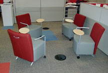 EcoPlex office seating area