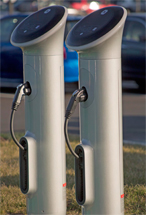 electric charging stations at the Schilling Green II  office building