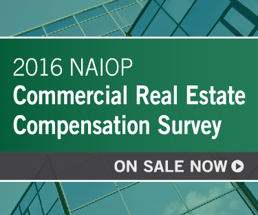 2016 NAIOP CRE Compensation Survey on Sale NOW