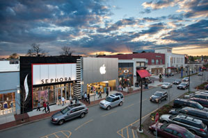 Legacy place delivering an urban suburban retail for Michaels crafts locations ma