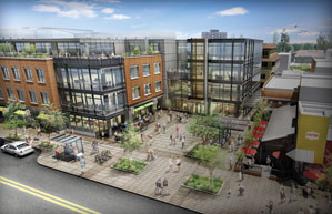 Mixed Use Building Rises On Boulder S Pearl Street Mall