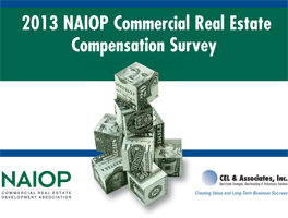 cover of the 2013 NAIOP Compensation Survey