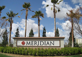 signage for Meridian